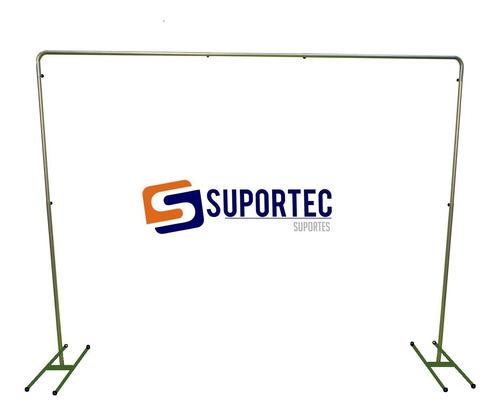 Estrutura Suporte Regulável P/ Banner Painel Lona 3,0 X 3,0