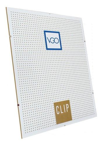 Portaretrato Clip 10x15 De Vidrio Sin Marco Pack X10