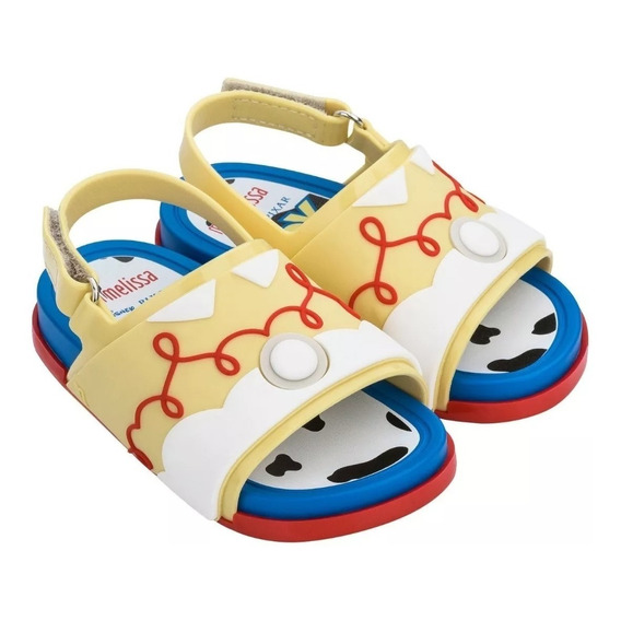 Sandalias Mini Melissa Beach Slide Toy Story
