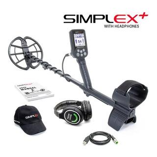 Detector De Metales Nokta Simplex Sum.+ Auri. Inal. + Gorra