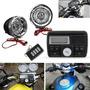 Bluetooth Motorcycle Handlebar Alto falantes De Áudio Rádio