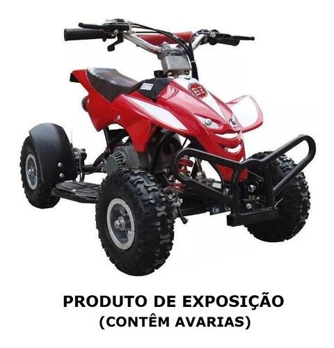 Mini Quadriciclo À Gasolina 49cc Exposição Original Dsr