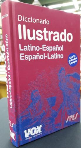 Diccionario Ilustrado Latino - Español Vox Spes Con Apéndice