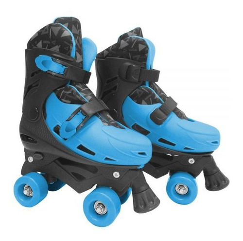 Patins Roller Meninos Radical 4 Rodas Com Freio Ajustável