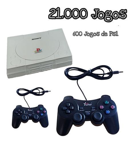 Video Game Retrôplay 1 + Dois Joystick C/ Nf
