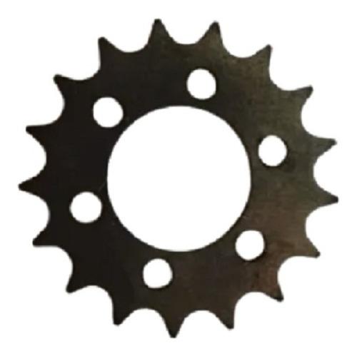 Pinhão Roda Fixa 17 Dentes De Ferro Sem Rosca Com 6 Furos
