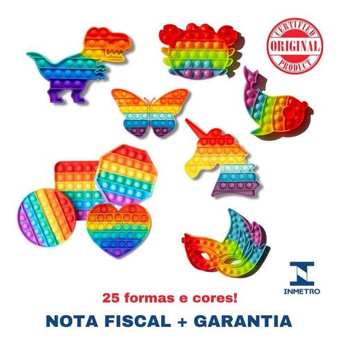 Brinquedo Popit Fidget Anti Estresse Ansiedade No Brasil