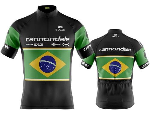 Camisa Ciclismo Mtb Cannondale Brasil