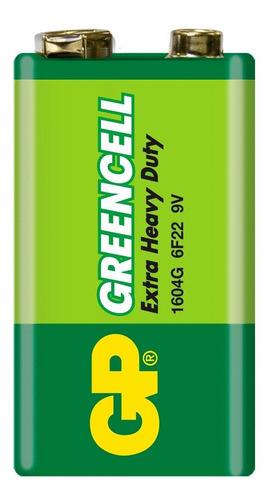 Pila Batería Cuadrada Gp Greencell 9v