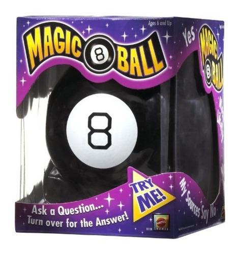Mattel La Original Magic 8 Ball Responde Preguntas Doestoys