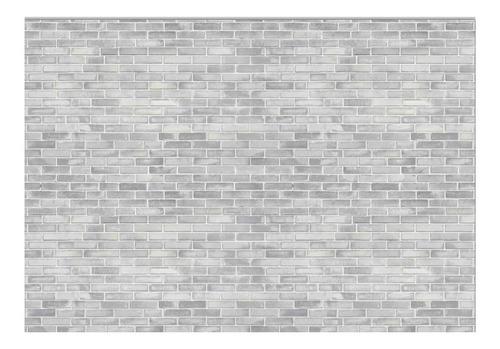Fundo Fotográfico Tijolos Brancos Em Tecido 1, 75x1, 20