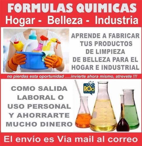 Curso Fórmulas Productos Limpieza Hogar Industrial Y Más.