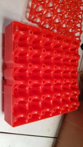 Bandeja Porta Huevos De Gallina Plastico Nuevo De Primer Uso