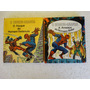 2 Livros Do Homem Aranha Com Bonecos De Papel!