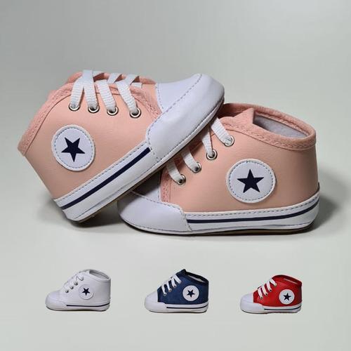 Sapato Tenis Botinha De Bebe Menina E Menino Envio Rápido