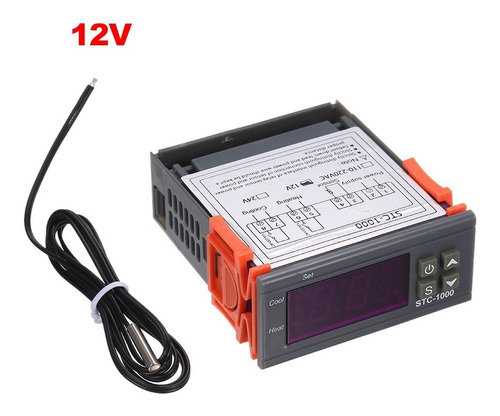 Stc-1000 Controlador Digital De Temperatura Calefacción