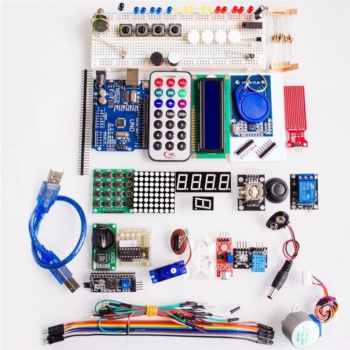 Kit De Inicio Para Aprendizaje De Arduino - Starter  Inc Igv