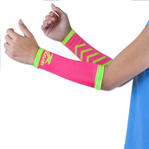 Manguito Curto Voleibol Arrow Muvin Mgt-100 Pink