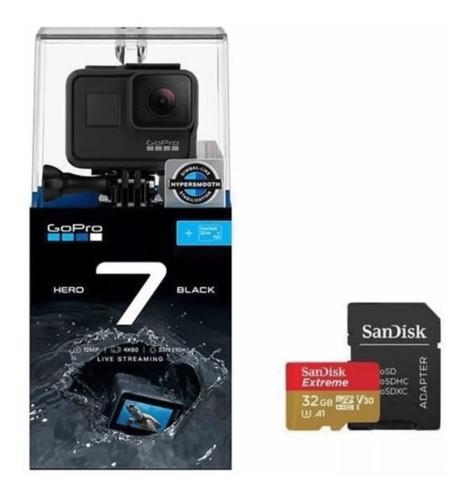 Câmera Hero 7 Black + Cartão 32 Gb (chdsb-701)