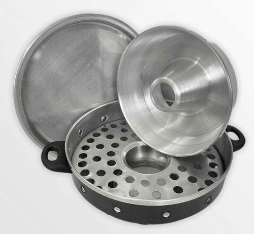 Churrasqueira 5 Em 1 Para Fogão N 30 Alumínio Envio Imediato