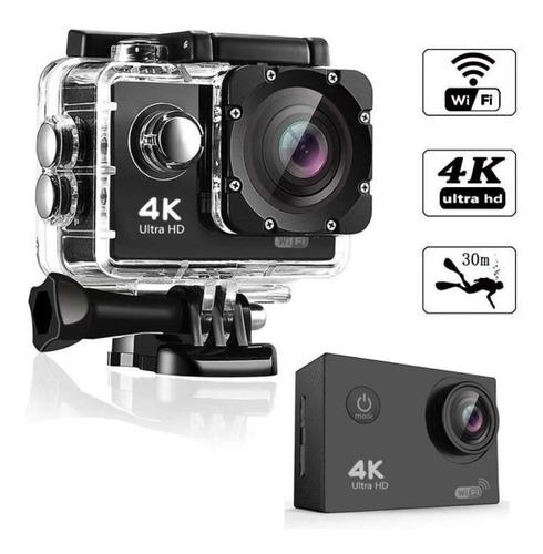 Câmera Go Cam Ultra Pro Full Hd 4k Sport Ação A Prova D'água