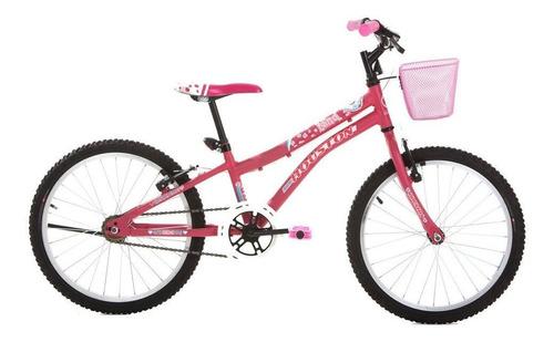 Bicicleta Nina Aro 20 Freios V-brake Nn201q Houston