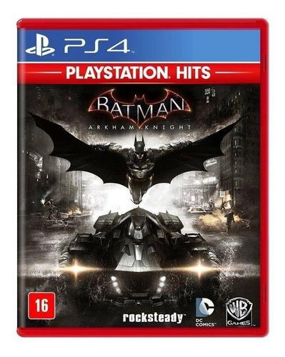 Batman: Arkham Knight Standard Edition Físico Ps4 Warner Bros.