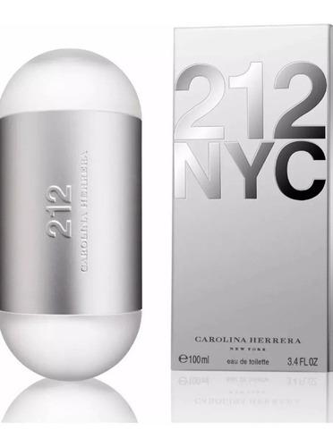 Perfume 212 Carolina Herrera 100 Ml Original Dama