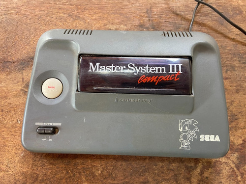 Console Game Master System Iii Sega Tec Toy