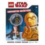 Livro Confronto Galacticos Lego Star Wars C3po