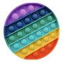 Pop It Brinquedo Bolhas Circular Fidget Toy Antistress