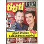 Revista Tititi 1072/19 Roberto Carlos Amigos 20 Anos