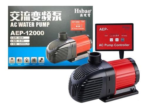 Bomba Submersa Hsbao Aep-12000 - 12000l/h Para Aquário Lago