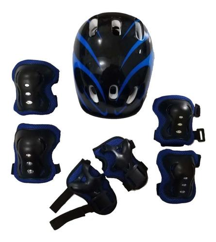 Kit Proteção Bike Infantil Capacete, Joelheira, Cotoveleira