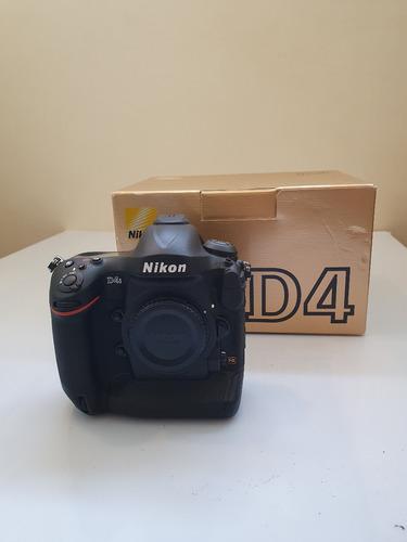 Câmera Fotográfica Nikon D4s 16.2mp Fx Só Corpo! 300 Clicks!
