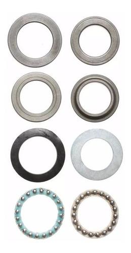 Kit Cubetas De Dirección Rouser 200 Ns Original Zeta Motos