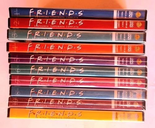 Colecao Friends 1ª A 10ª Temporadas Completas Original Novo