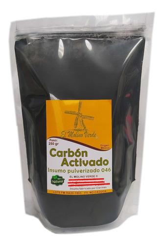 Carbón Activado En Polvo 046 X 250gr - g a $34