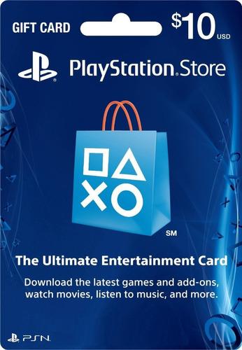 Psn 10 Playstation Network Card Usa - Ecuador Geek
