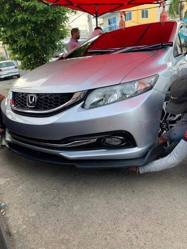 Lip Delantero Para Honda Civic 2013-2014-2015-2016-2017-2018