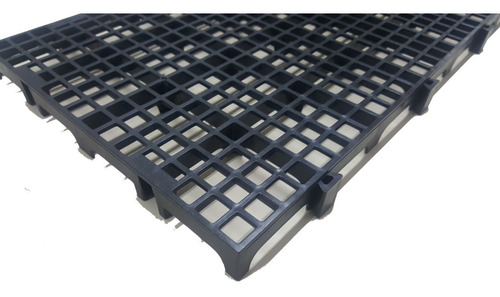 10pc Palete Estrado Plástico Preto 2,5x25x50 Cm De Qualidade