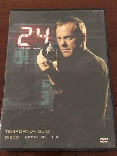 Dvd Serie 24 Horas Temprada 6 Completa