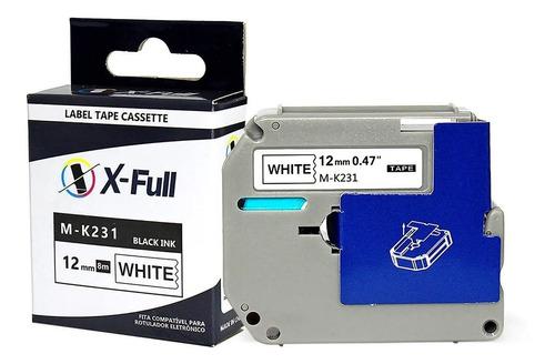 Fita Compativel Brother Mk231 M-k231 M231 M-231 Pt-70 Pt70