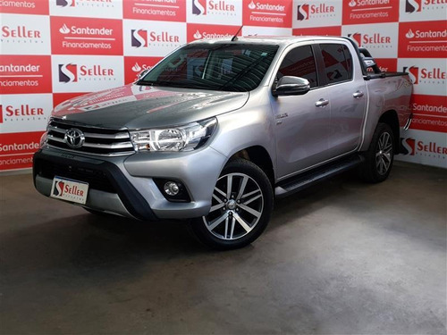 Toyota Hilux 2.7 Srv 4x4 Cd 16v Flex 4p Automático 2018/2018