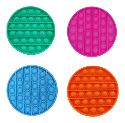 Pop It Fidget Brinquedo Anti Stress Sensorial Bolha Nacional