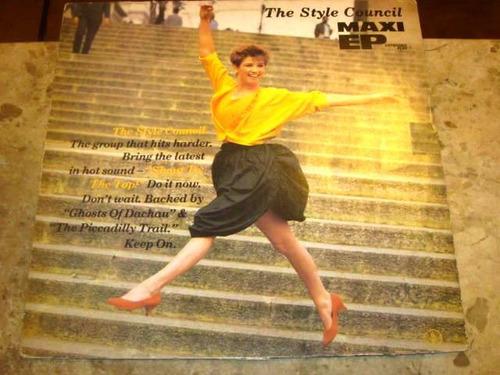 Lp Style Council - Shout Top (1985) Maxi Ep C/ Paul Weller Original