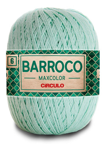 Barbante Barroco Maxcolor Multicolor Círculo N6 200g 228mts