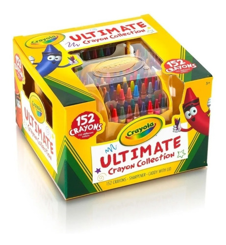Set 152 Crayones Bluetiful Crayola
