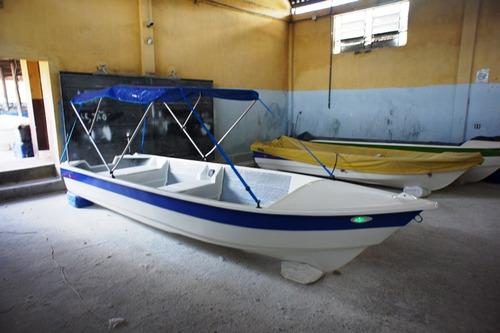 Barco Bote Lancha Pesca 5,30 Capota Artsol 40 Anos Fabrica