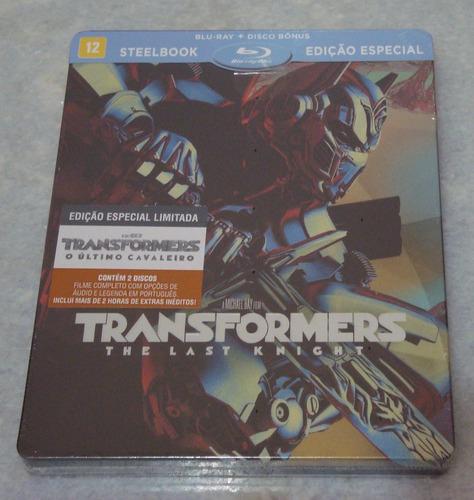 Transformers The Last Knight Blu Ray Ediçao Especial